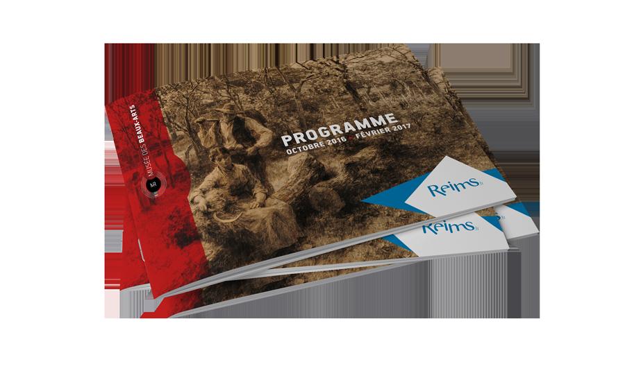 Programme culturel réalisé pour les Musées de Reims