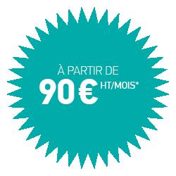 Site web à partir de 90€/mois